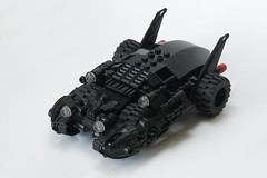 Batmobile (ted @ndes) Tags: auto car dc lego batman batmobile moc fbtb