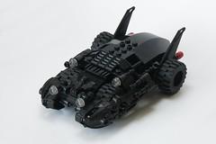 Batmobile (ted @ndes) Tags: auto car dc lego batman batmobile moc fbtb