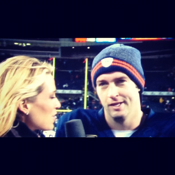 Happy Jay. #Bears #CUTLER #winstreak