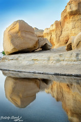 Reflection    (Mustafa Ahmad) Tags: mountain reflection mount alhasa   alahsa