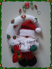 Noel na lua (Efeltro Borboleta) Tags: natal navidad feltro enfeitedenatal mobilenoelnalua