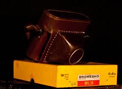 DSC02267 (Evansshoots) Tags: camera vintage 50mm kodak rangefinder 28 135 braun 56 135mm schneider kreuznach xenar paxette bromesko