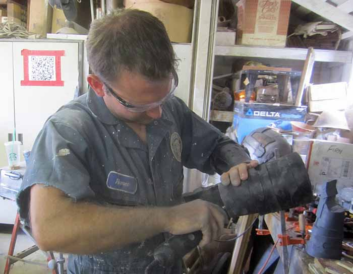 Isaac Clarke Righ Gaunt Cutting