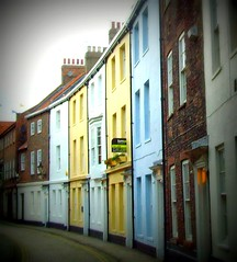 Colourful curved street in Hull (Tony Worrall) Tags: road street city uk houses homes england urban color architecture buildings tour place culture visit row tourist crescent east georgian hull curve quaint coloured yorks eastyorkshire humberside cityofculture ©2011tonyworrall imagesofhull hullcityofculture hullphotos