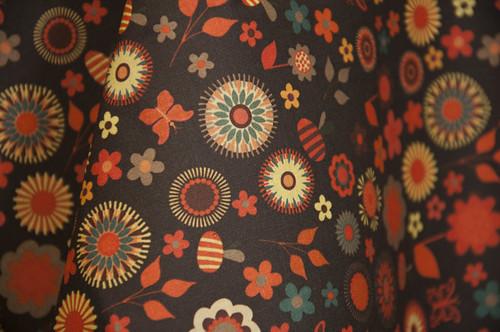 Ditsy Garden by kezia by Spoonflower Fabrics