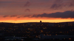 took this morning from whitebeck court (johnnybiggs91) Tags: morning oldham pennines greatermanchester justclouds