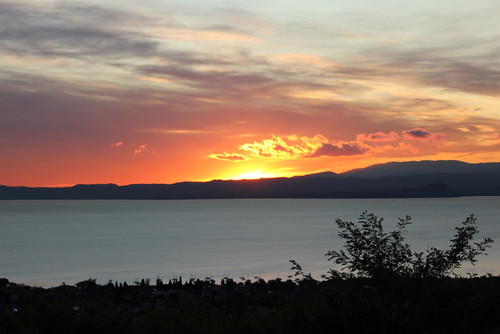 tramonto ottobre
