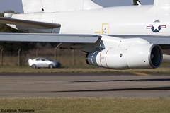 Evo Jet (Zac Watson Photography) Tags: car photoshop plane canon lens airplane photography eos is haze aviation jet engine adobe watson heat usm zac 70300mm usaf raf evo awacs mildenhall 500d e3b 750556