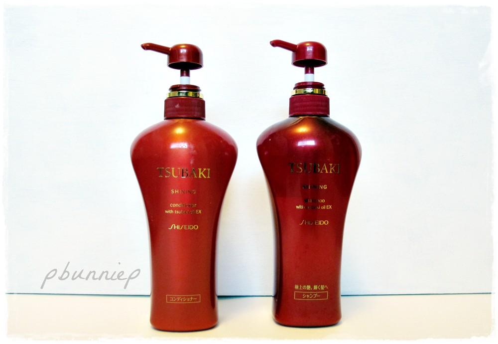 Shiseido Tsubaki Shinning haircare