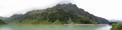 Silvretta Panorama (glamorous-pictures.de) Tags: panorama mountains alps canon austria sterreich berge alpen stausee vorarlberg strig silvrettahochalpenstrasse alperne vermuntsee powershotg11 silvrettamountains silvrettagebirge vermuntlake damminglake
