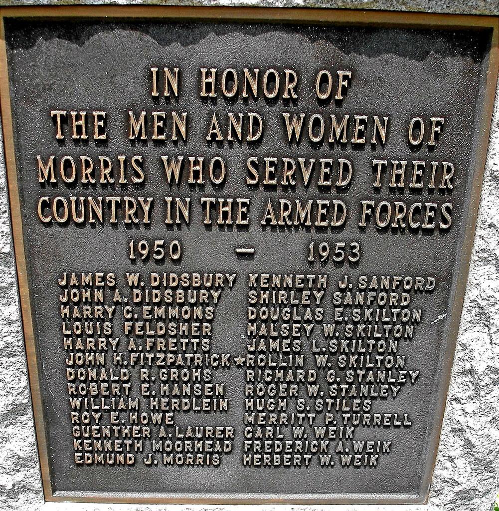 MORRIS - KOREAN MEMORIAL