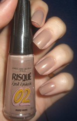 Ouro Nude - Risque (Pollyanna Vergara) Tags: unhas risque esmaltes esmalte fastfashion ouronude