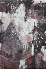 Ashita no wasuremono  (2011) Oil on canvas, ink, pigment, charcoal, pencil 1360x930x60mm (mayakonakamura) Tags: autumn abstract flower rabbit bird sign butterfly painting tokyo wings sheep heart memories dream canvas charcoal bow future oil present ribbon tomorrow past pigment organs unconscious nakamura prophecy kyobashi mayako soloshow subconscious semiabstract galleryhinokibc oneequalstwoequalsone