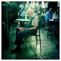 la solitudine/ loneliness (DrMonia) Tags: old lomography alone loneliness niceshot monia lonely iphone lomografia solitudine anziano flickraward doublyniceshot doubleniceshot hipstamatic drmonia
