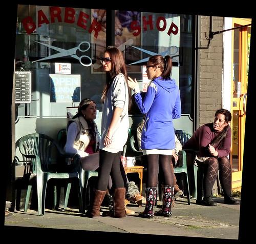 Barber Shop Girls