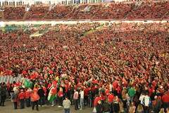 Rugby World Cup Semi Final, Wales vs France, Millenium Stadium Screening