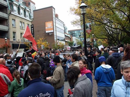 Occupy Toronto - the crowd
