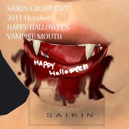 SAIKIN halloween gift