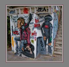 Graffiti : Canal du midi / Ramonville (31) (=Tripy=) Tags: streetart canon graffiti is graf usm 31 ef f4l 24105mm ramonville canonef24105mmf4lisusm