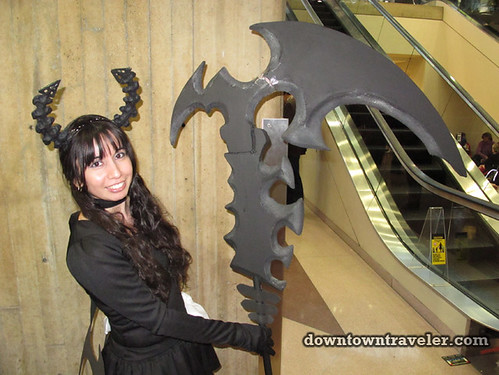 2011 NY Comic Con Woman with Giant Sword