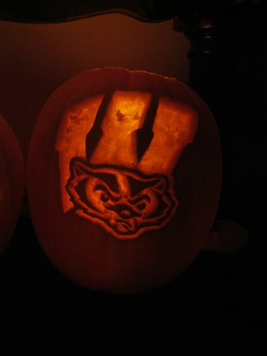 Badgers Pumpkin