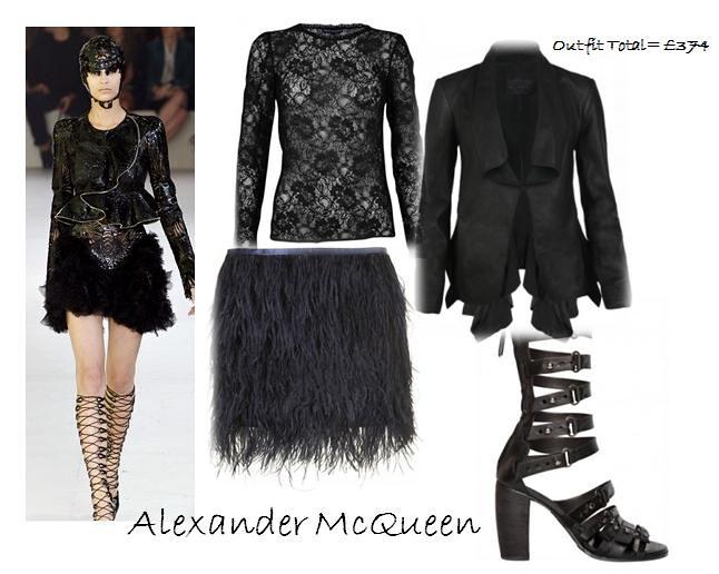 Alexander Mcqueen ss12