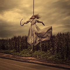puppet and master (brookeshaden) Tags: storm cornfield wind puppet ominous rope master brookeshaden texturebylesbrumes