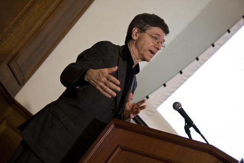Jeff Sachs at ICCS