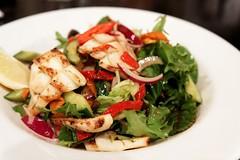 20111013-02-Calamari salad at Fish 349 in Hobart (Roger T Wong) Tags: food dinner restaurant salad meal calamari canonefs1755mmf28isusm canon1755 canoneos50d fish349