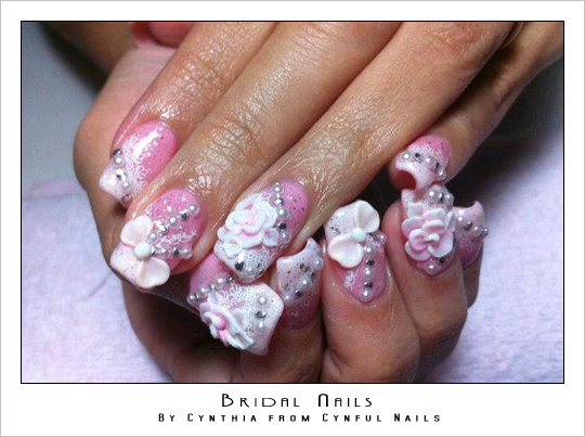 Piggeek Girl : Bridal Nails