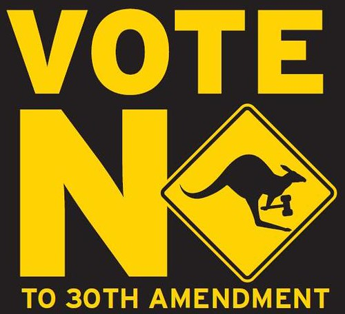 vote no logo