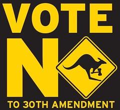 vote no logo