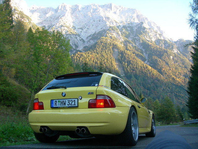 1998 BMW M Coupe | Dakar Yellow | Gray/Black
