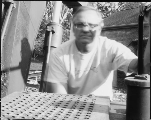 Bulldoze Me  (8x10 paper negative pinhole)