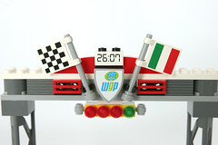 8423 World Grand Prix Racing Rivalry Gate Detail