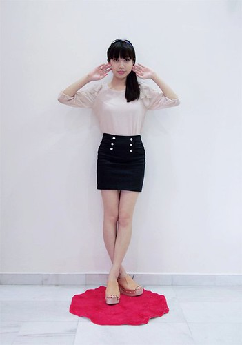70_Sappphire Bodycon Skirt