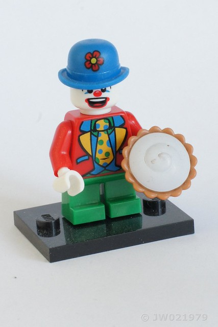 Lego Clown Minifigure