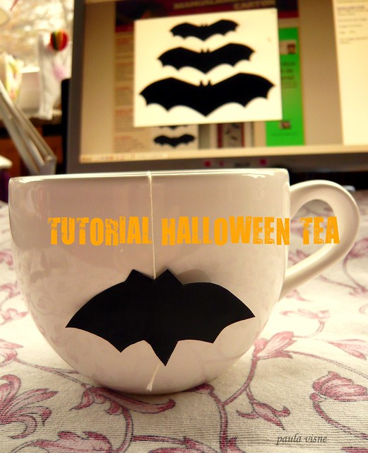 TUTORIAL HALLOWEEN TEA