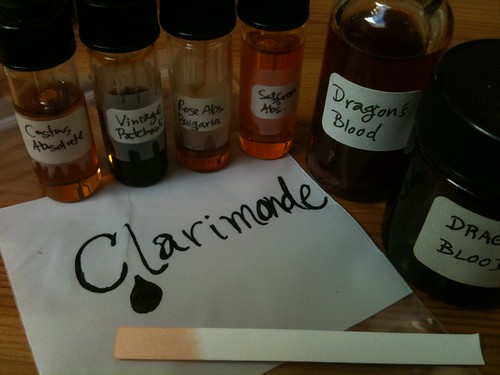 Composing Clarimonde