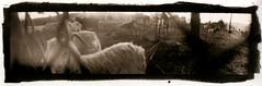 goats (efo) Tags: panoramic goats altprocess selfmadecamera autaut palladiotype mysteriouscamera bwfp