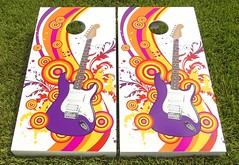 Music Theme Cornhole Sets