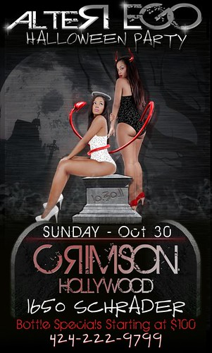 Alter Ego #HalloweenParty @ Crimson Hollywood 10-30-11 #LANightLife by VVKPhoto