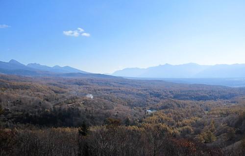 女の神展望台から見た紅葉 2011年10月26日13:38 by Poran111