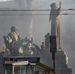 viale carlo felice (e-laboratorio) Tags: roma manifestazione vandalismo blackblock disordini indignati indignados 15102011