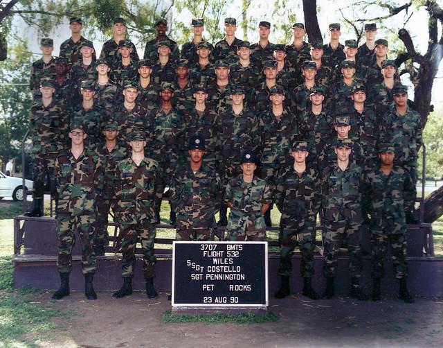 Eric Howton Basic Military Training 1990