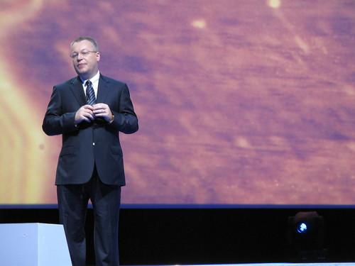 諾基亞執行長Stephen Elop於Nokia World 2011大會開場演講