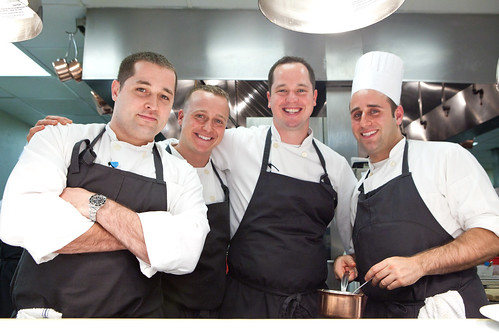The higher ranked chefs of Eleven Madison Park