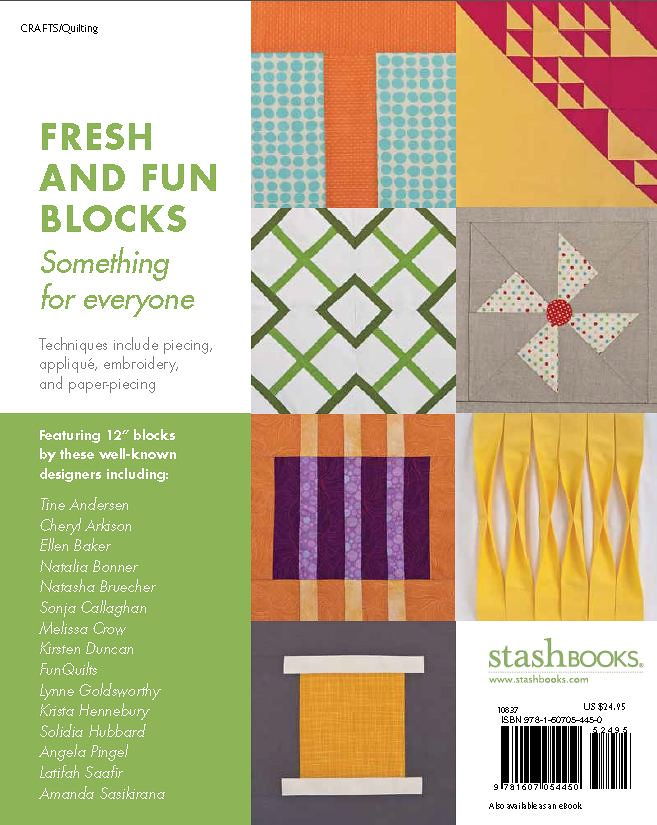 Modern Blocks book back cover