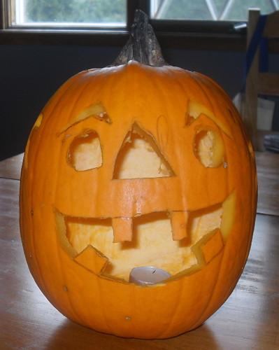 Benjamin's pumpkin 2011