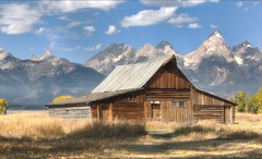 Mormons Row in the Grand Tetons (Daniel Behm Photography) Tags: nature landscape yellowstone grandtetons tetons mormonsrow danielbehm